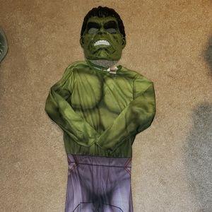 EUC Hulk costume